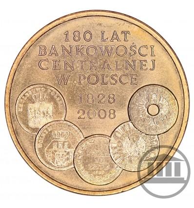 2 ZŁ 2009 - 180 LAT BANKOWOŚCI CENTRALNEJ W POLSCE