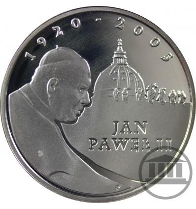 10 ZŁ 2005 - PAPIEŻ JAN PAWEŁ II