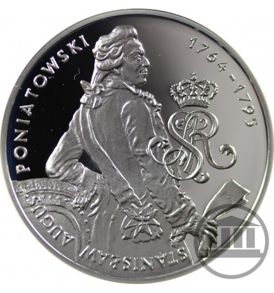 10 ZŁ 2005 - STANISŁAW AUGUST PONIATOWSKI - PÓŁPOSTAĆ