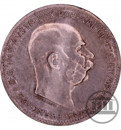 1 KORONA, CORONA 1916 - FRANCISZEK JÓZEF I, FRANZ JOSEPH I