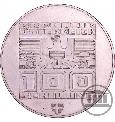 100 SZYLINGÓW, SCHILLING 1976 - INNSBRUCK