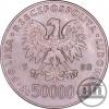 50 000 ZŁ 1988 - JÓZEF PIŁSUDSKI