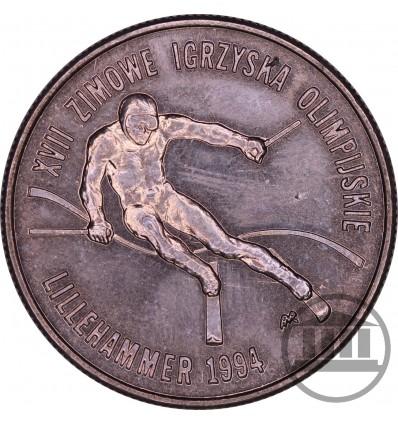 20 000 ZŁ 1993 - XVII ZIMOWE IGRZYSKA OLIMPIJSKIE - LILLEHAMMER