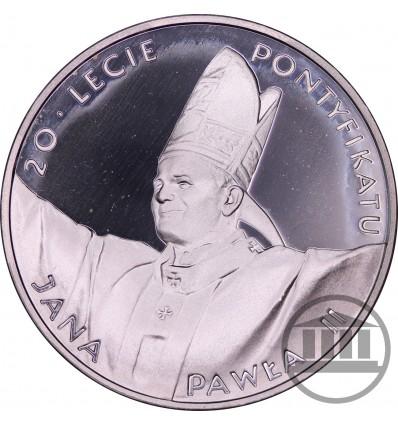 10 ZŁ 1998 - 20-LECIE PONTYFIKATU JANA PAWŁA II