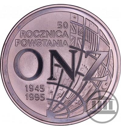 20 ZŁ 1995 - 50. ROCZNICA POWSTANIA ONZ