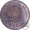 20 ZŁ 1995 - MIKOŁAJ KOPERNIK - ECU