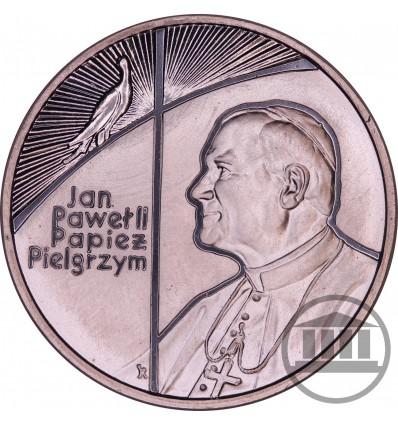 10 ZŁ 1999 - JAN PAWEŁ II - PAPIEŻ PIELGRZYM