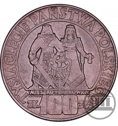 100 ZŁ 1966 - MIESZKO I DĄBRÓWKA