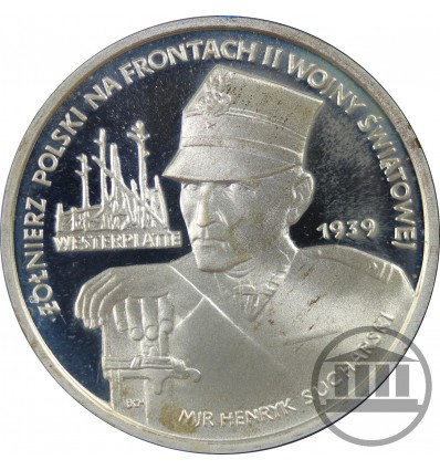 5 000 ZŁ 1989 - WESTERPLATTE - MJR HENRYK SUCHARSKI