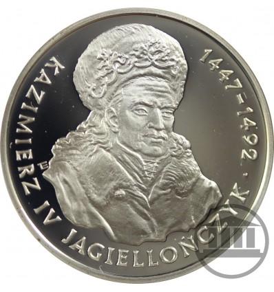 200 000 ZŁ 1993 - KAZIMIERZ IV JAGIELLOŃCZYK - POPIERSIE