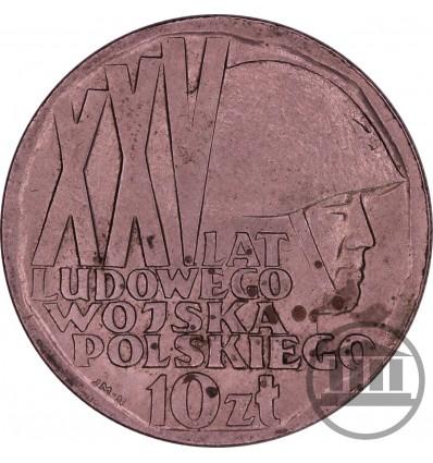 10 ZŁ 1968 - 25 LAT LUDOWEGO WOJSKA POLSKIEGO