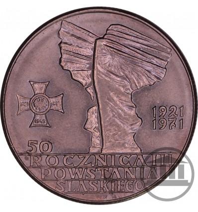10 ZŁ 1971 - 50. ROCZNICA III POWSTANIA ŚLĄSKIEGO