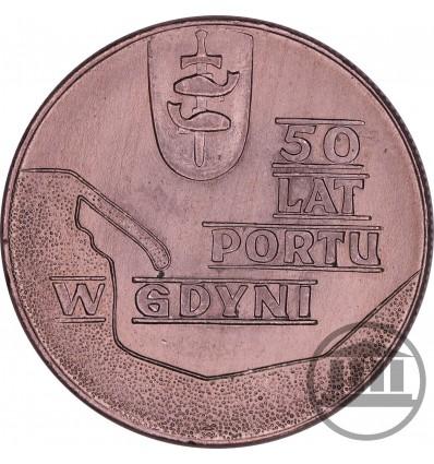 10 ZŁ 1972 - 50 LAT PORTU W GDYNI