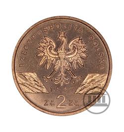 2 zł 1997 - Jelonek Rogacz - awers