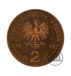 2 zł 1999 - Wstąpienie Polski do NATO - awers