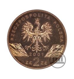 2 zł 2001 - Paź Królowej - awers