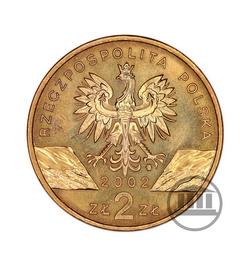 2 zł 2002 - Żołw Błotny - awers