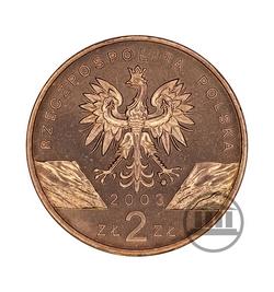 2 zł 2003 - Węgorz Europejski - awers