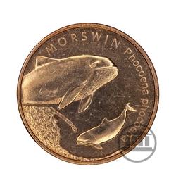 2 zł 2004 - Morświn - rewers