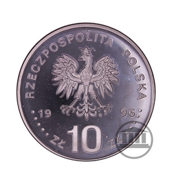 10 zł 1996 - 40 rocznica Wydarzeń Poznańskich 1956 - awers