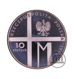 10 zł 1998 - 20-lecie Pontyfikatu Jana Pawła II - awers
