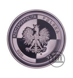10 zł 1999 - Wstąpienie Polski do NATO - awers