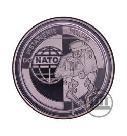10 zł 1999 - Wstąpienie Polski do NATO - rewers