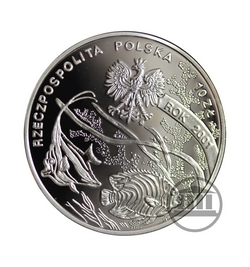 10 zł 2001 - Michał Siedlecki - awers