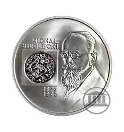 10 zł 2001 - Michał Siedlecki - rewers