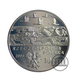10 zł 2004 - Aleksander Czekanowski - awers