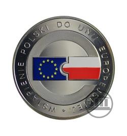10 zł 2004 - Wstąpienie Polski do Unii Europejskiej - rewers