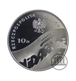 10 zł 2005 - 25-lecie NSZZ Solidarność - awers