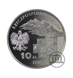10 zł 2007 - Ignacy Domeyko - awers