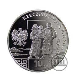 10 zł 2008 - Bronisław Piłsudski - awers