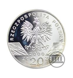 20 zł 2000 - Dudek - awers