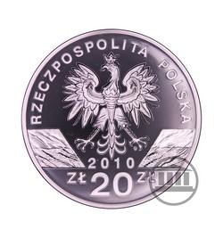 20 zł 2010 - Podkowiec Mały - awers