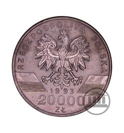 20 000 zł 1993 - Jaskółki - awers