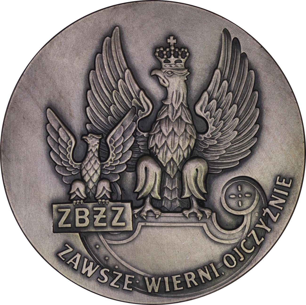 Medal ZBŻZ - Związek Byłych Żołnierzy zawodowych - Zawsze Wierni Ojczyźnie