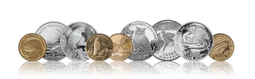 Zwierzęta świata seria monet