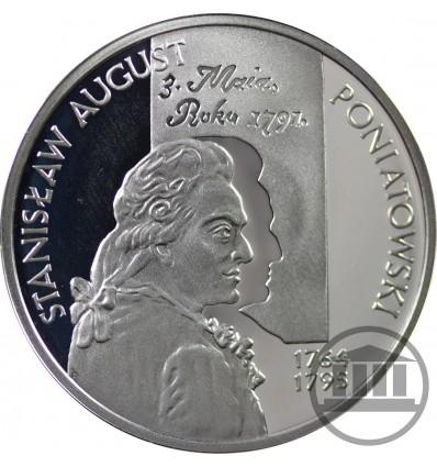 10 ZŁ 2005 - STANISŁAW AUGUST PONIATOWSKI - POPIERSIE